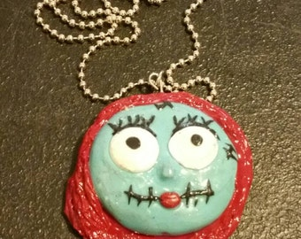 Made to order polymer clay pendant
