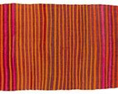 5x7 Vintage Moroccan Kilim Rug