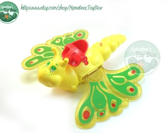 Vintage Strawberry Shortcake Butterfly Flitter-bit 1980s Toy
