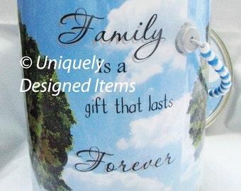 Family Reunion Gifts    --Family Reunion keepsake can