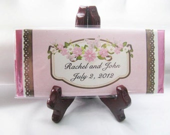 Personalized Wedding Favors - Wedding Favors - Custom Wedding Favors - Chocolate Favors- Personalized Hershey bars  - for any event or gift