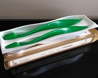 Deber Fiamma Italy Green Wax Candles