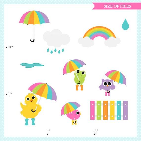 Rainy Day Clip Art: Spring Clip Art Clipart Rain Rainy Day Umbrella