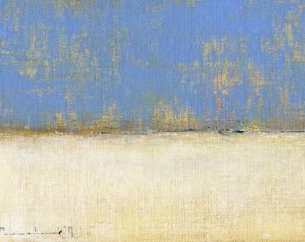 Prairie Snow — Original Oil Painting, Landscape Painting, Abstract Landscape, Original Painting, Abstract Oil Painting, Fine Art, 5 x 7