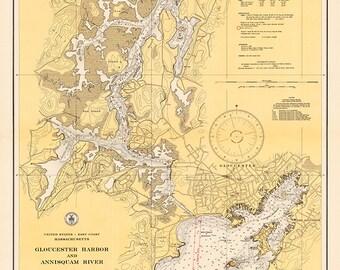 Gloucester & Annisquam River 1937
