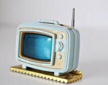 Vintage 60s Princess Patti Dollhouse Television Set