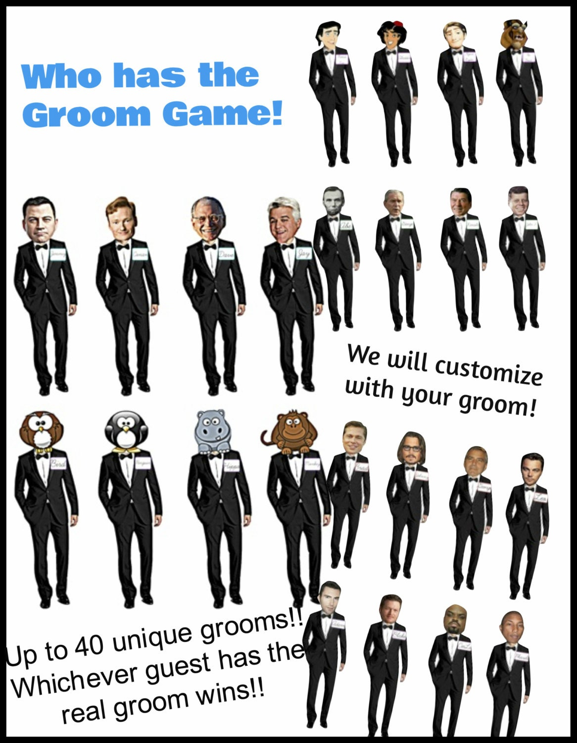Dramatic image with regard to who has the groom printable