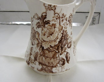 Wonderful English Transferware Creamer