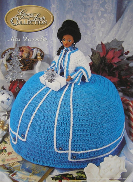 Annies Attic Crochet Bed Doll Pattern Gems of the South Miss December ...
