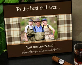 Personalized Any Message Printed Picture Frame for Him -gfy442990