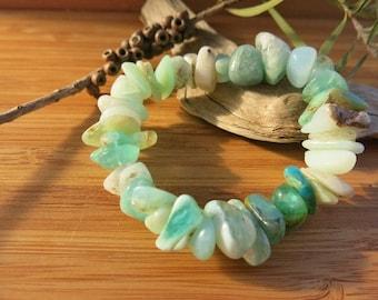 Blue Peruvian Opal Bracelet