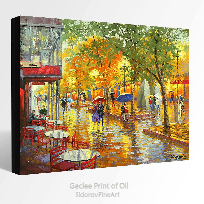 OIL Painting Giclee Print Canvas Print Fine Art Print Of