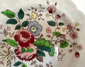 """Antique """"Booth's Stanway pattern""""  place setting made in England"""