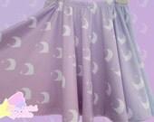 SALE Melty Moon Skater Skirt