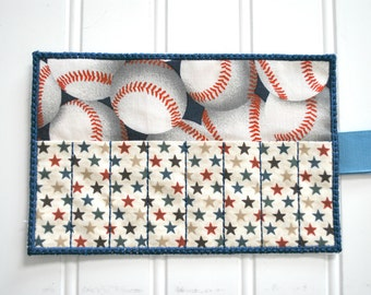 Baseball Crayon Roll-8 Count