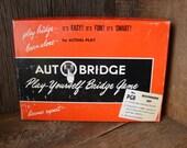 Auto-Bridge Play-Yourself Bridge Game 1957