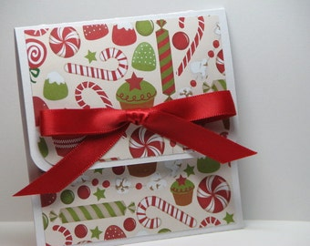 Visions of Sugar Plums Dancing Christmas Gift Card Holder