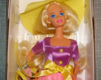 Barbies Avon Exclucive spring blossom 1995