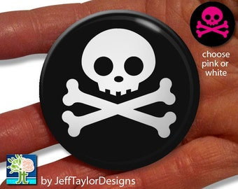 Skull and Crossbones Pocket Mirror
