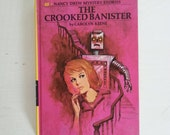 Nancy Drew Book The Crooked Banister Vintage 1960's Mystery No. 58 Children's Books