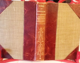 Book Works of Henry Wadsworth Longfellow Volume 3 and 4 1909