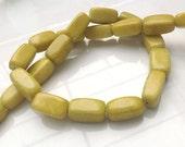 21 HOWLITE Beads 18x10mm - COD3708