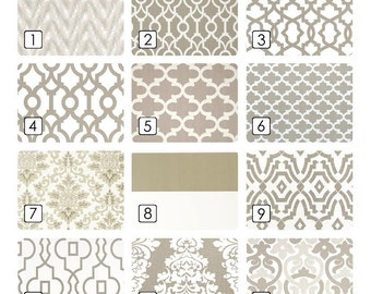 Ecru Taupe Curtains. Light Tan Drapes 63, 84, 96, 108, 120 Lengths. Beige Window Treatments. Drapery Curtains.