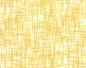 SALE - Mustard Yellow Mesh Cotton Fabric - Color Theory by V & Co. from Moda 1/2 Yard