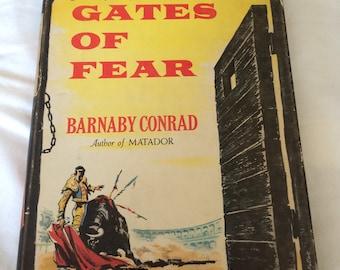 Vintage book Gates of Fear Barnaby Conrad bullfighting bullrings 1950s