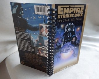 Star Wars Empire Strikes Back 1997 special edition VHS Tape Box Notebook