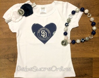 San Diego Padres Girls Outfit
