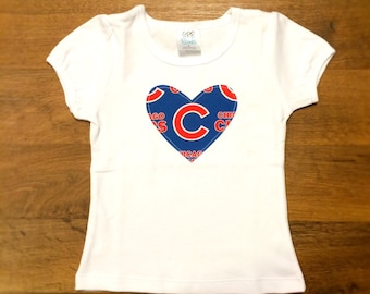 Chicago Cubs Girls Top