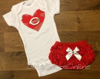 Cincinnati Reds Girls Outfit