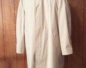 Trench Coat London Fog Zipout Lining 40 Regular Men's Raincoat