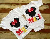 Disney Minnie Top Personalized - 0-3m to 12 years... Long or Short Sleeved