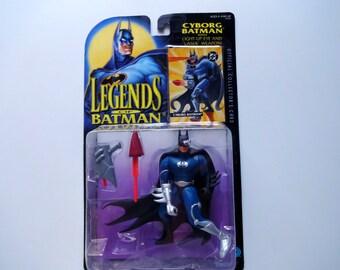 Vintage Cyborg Batman Action Figure 1994 NIB
