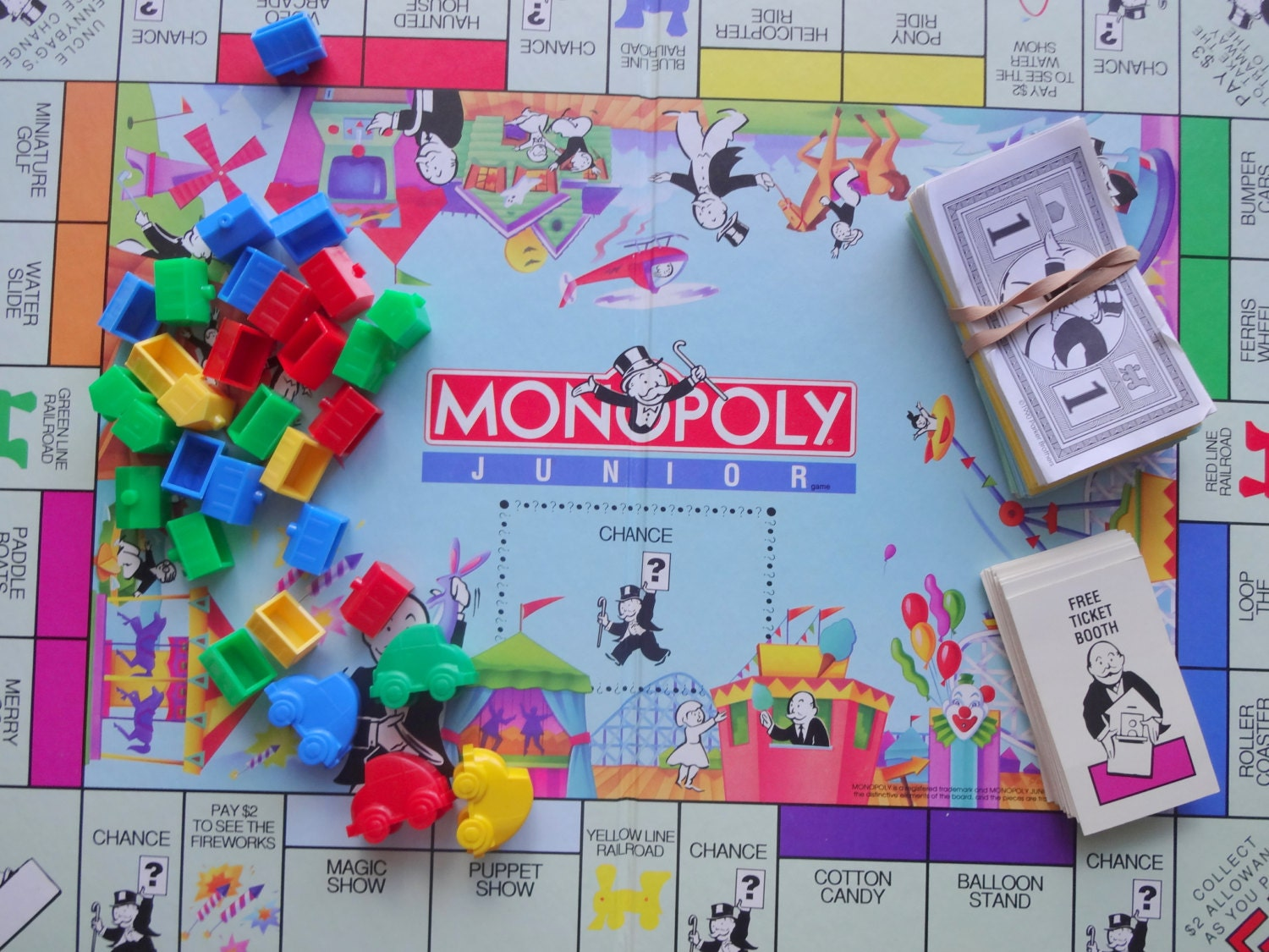 monopoly junior game directions