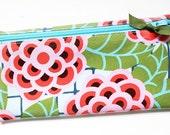 Cash budget envelope, 6 category dividers | pink, blue, green, floral, laminated cotton