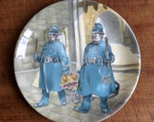 Wind in the Willows plate from Wedgwood - Toad in Chains