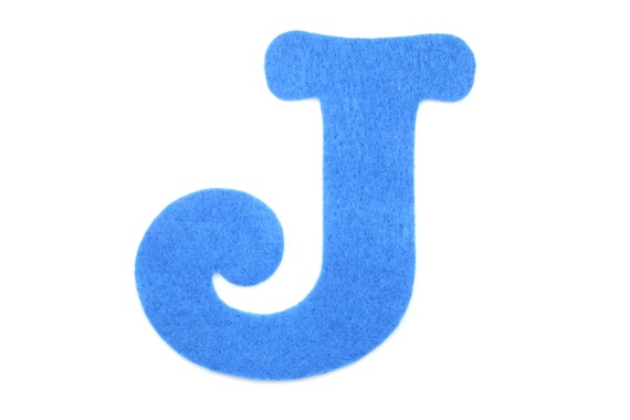 felt letter j choose color felt letters felt decorations