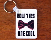 Bow Ties Are Cool! Doctor Who Inspired Keychain