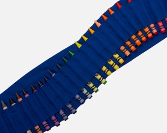 Kids Crayon Bandolier | Royal Blue