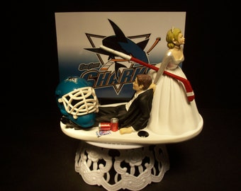wedding cake topper san jose toppers g 226 teau requin etsy 26378