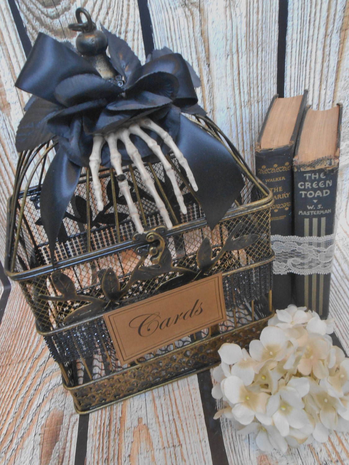 birdcage wedding decorations small wedding birdcage card holder by thosedays 1727