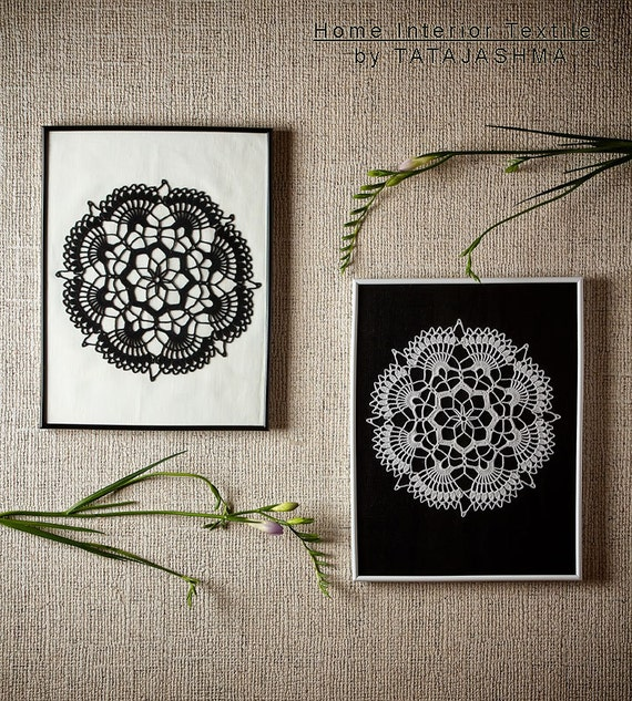 Items Similar To Black And White Art Paint Wall Decor Luna