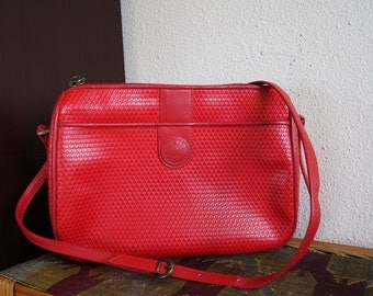 Red Liz Claiborne Shoulder Bag