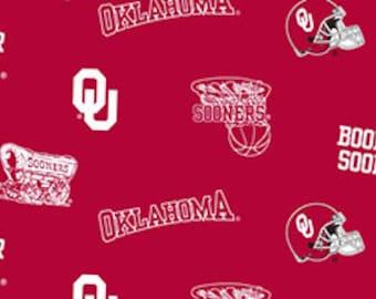 University of Oklahoma Sooner Fabric