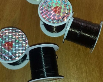 3 10m Hair Extensions Ultra Stretchy Elastic Weaving Thread Blonde, Black or Brown MIX?