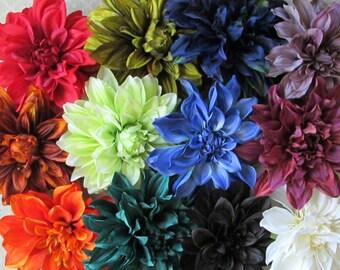 Mega Dahlia Hair Flower Clip & Pin - 13 Color Choices!