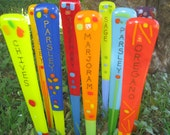 Customized and Colorful GARDEN ART STAKES Add Color and Flair to your Garden!